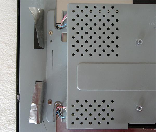 Repérage de la position des câbles de rétroéclairage