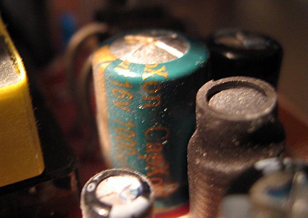 Le condensateur bombé