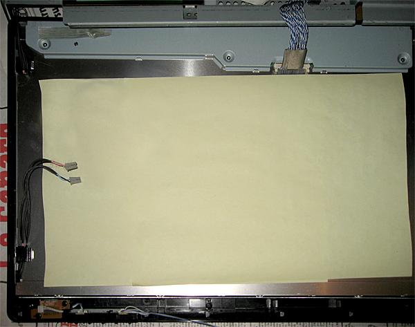 Feuille de papier pour isoler temporairement la carte
