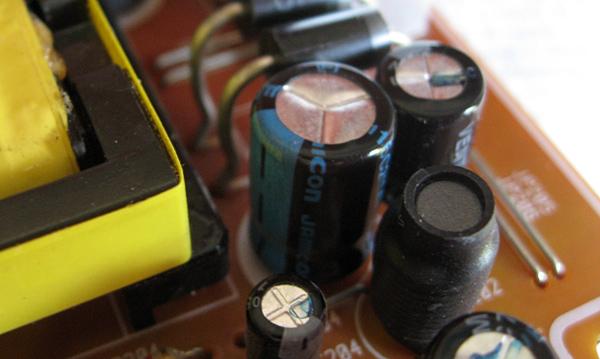 Nouveau condensateur en place