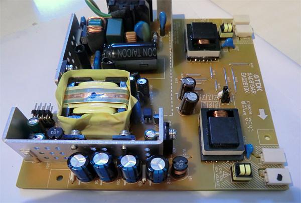 changer-condensateurs-acer-al1706-6-condensateurs-changes