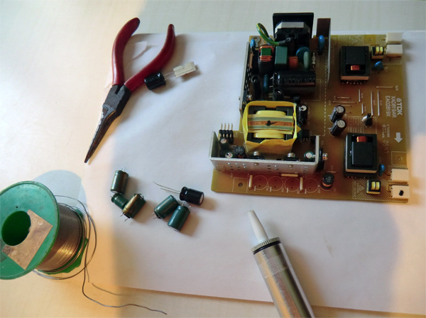 changer-condensateurs-acer-al1706-vue-generale