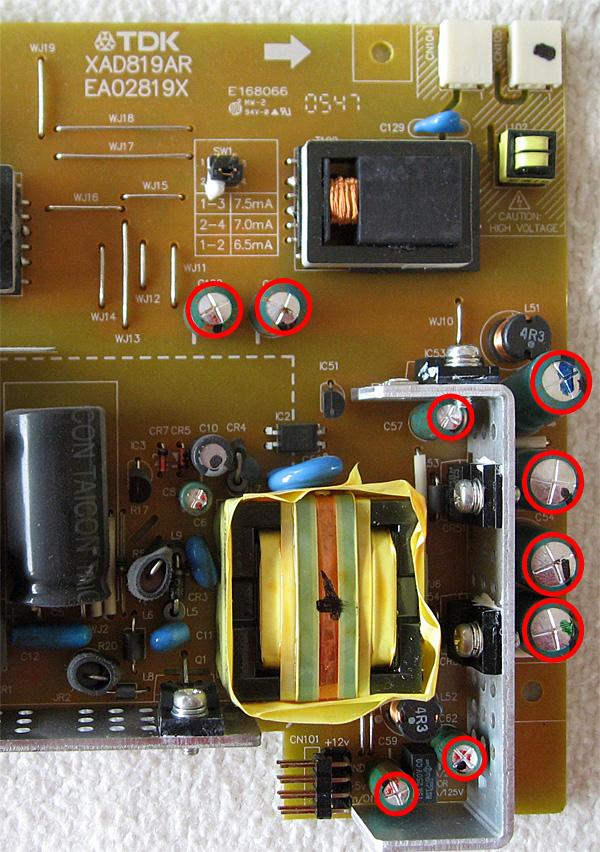 demontage-acer-condensateurs-bombes