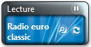 Widget ims radio player