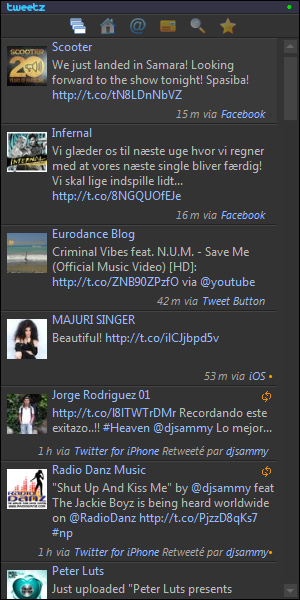 widget tweetz