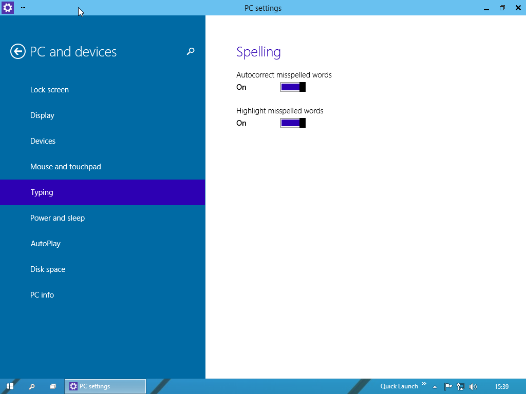 decouverte-windows-10-pc-settings-pc-and-devices-typing