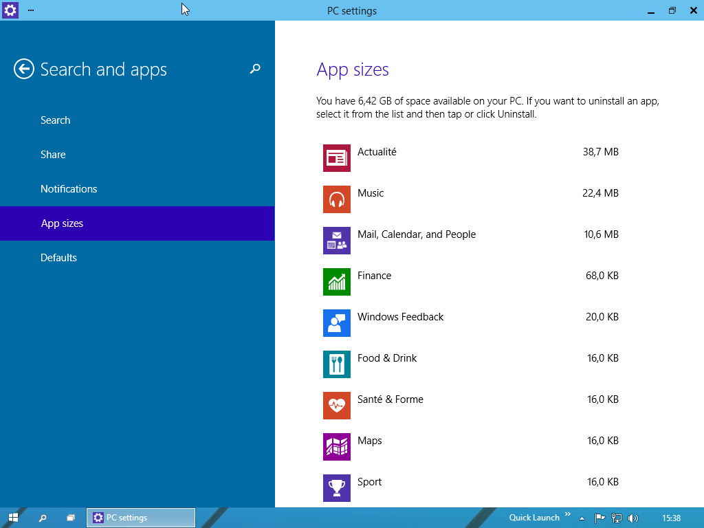 decouverte-windows-10-pc-settings-search-and-apps-app-sizes