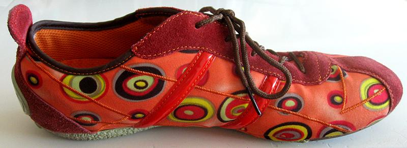 Modèle de chaussure fine