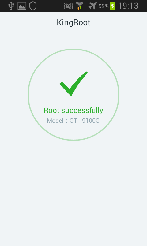 Kingroot Android root réussi