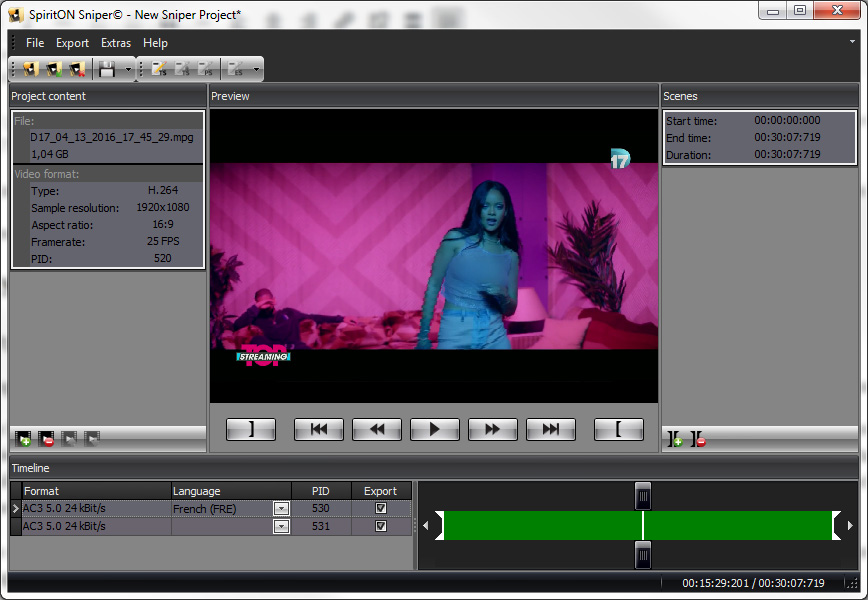 tssniper-chargement-video-dans-projet