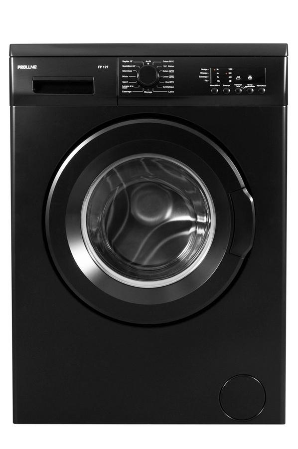 lave-ling proline fp 127 noir mat, vue générale