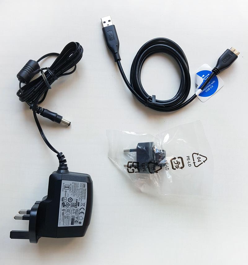 Connecteurs du WD Elements