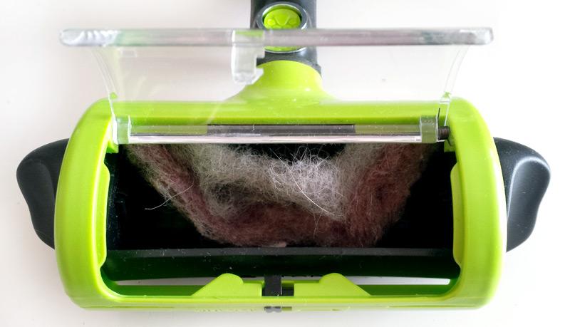 Compartiment à poils du FUR Sweeper