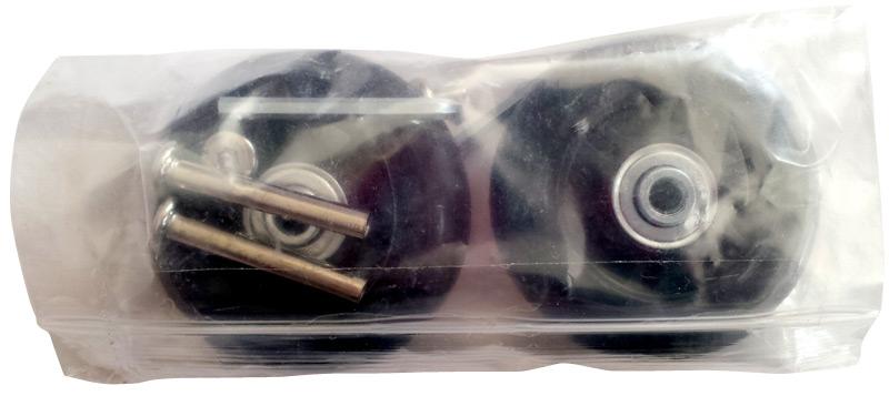 Kit de réparation roues de valise dans son emballage