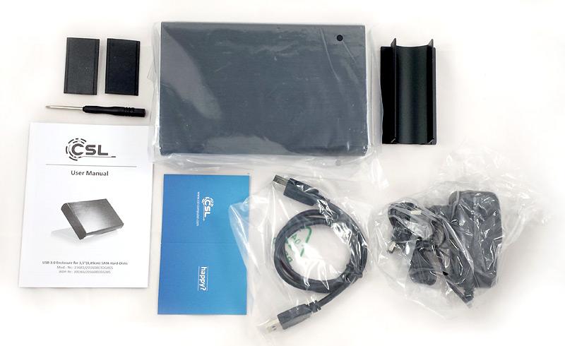 Boîtier disque dur CSL Computer et accessoires