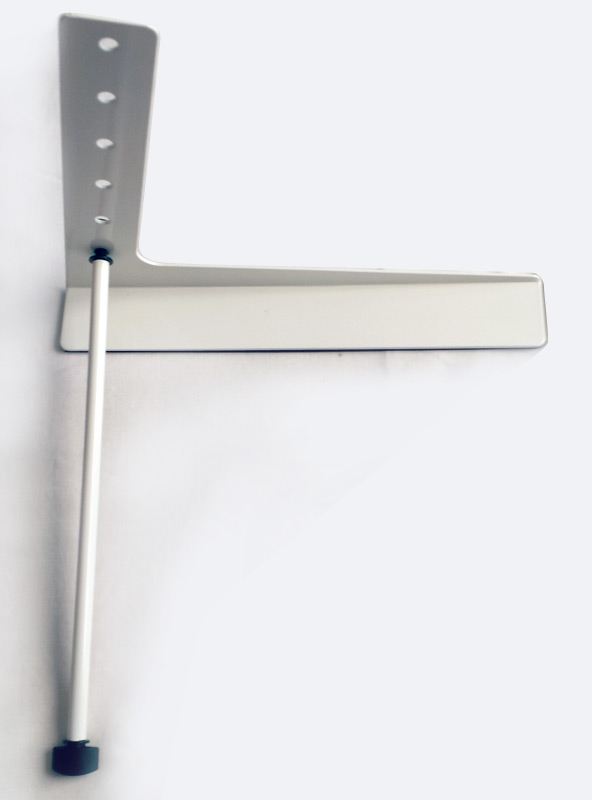 Support laptop - Montage des barres