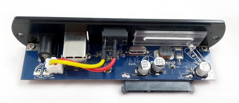 Façade du boîtier disque dur CSL Computer