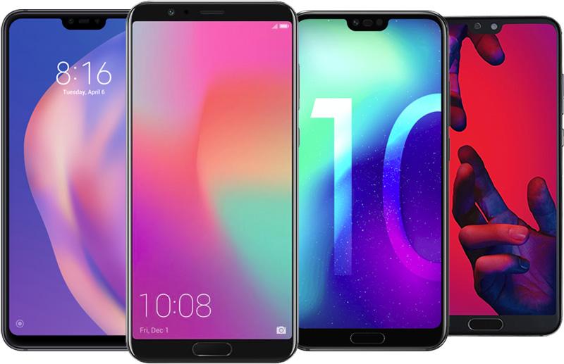Smartphones avec IR