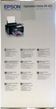 Carton de transport de l'imprimante