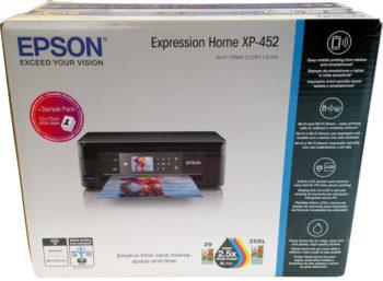Carton de transport de l'imprimante Epson xp-452