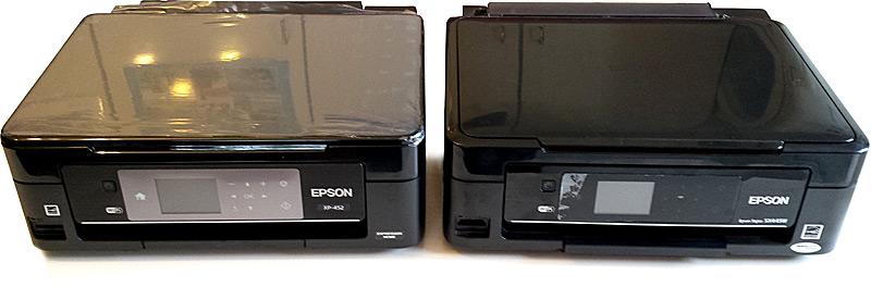 Comparaison imprimante Epson XP-452 et Epson SX445W