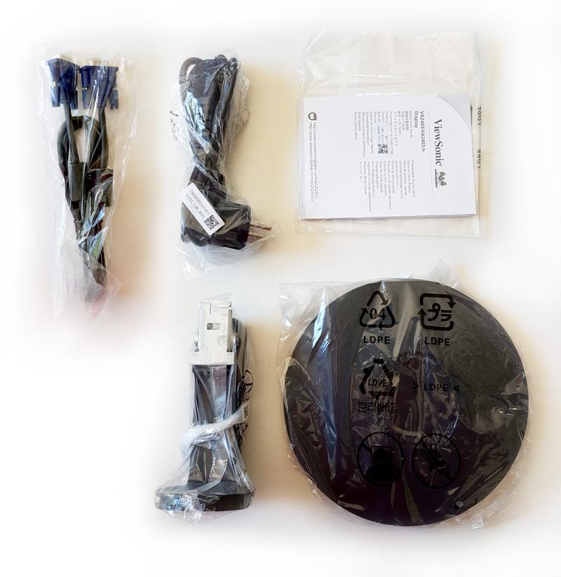 Accessoires du Viewsonic VA2403-h