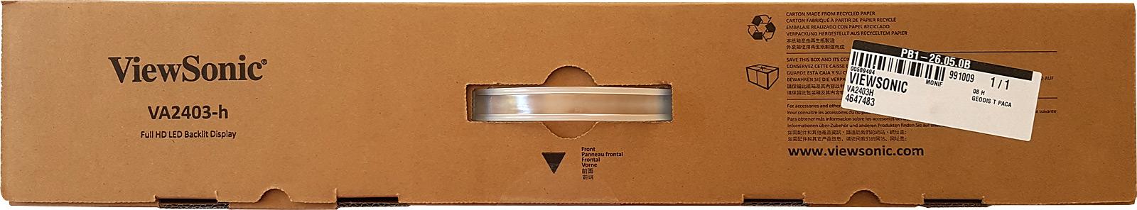 Carton du Viewsonic VA2403-h