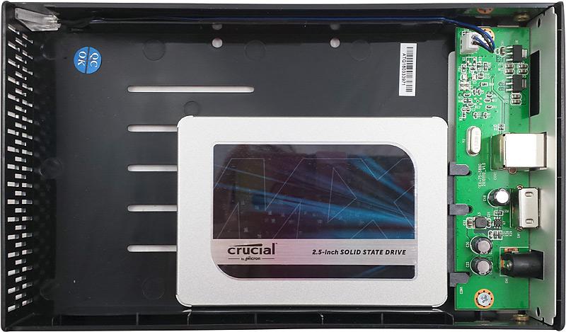 Disque dur SSD dans boîtier StarTecg.com