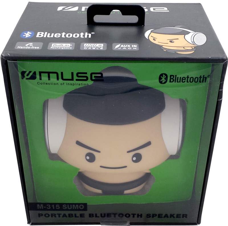 Emballage de l'enceinte portable bluetooth M-315 Sumo