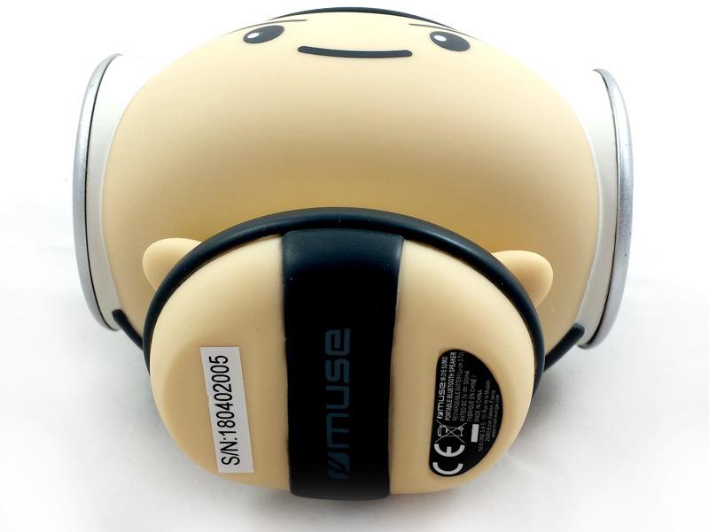 Face inférieure de l'enceinte portable bluetooth M-315 Sumo