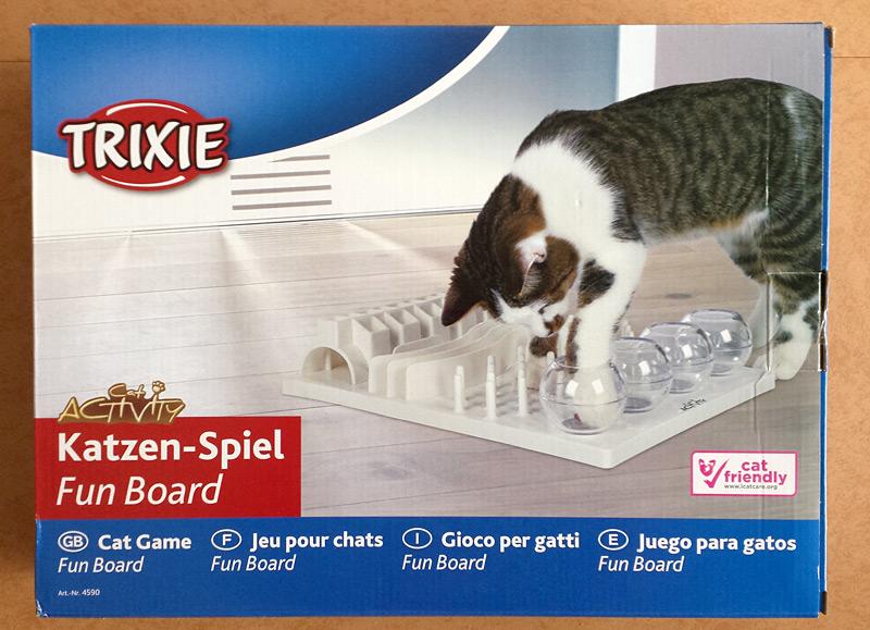 Boîte de la Trixie fun board