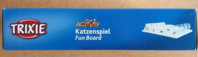 Côté de la boîte de la fun board