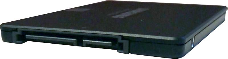 Disque dur SSD Samsung 860 evo - connecteurs