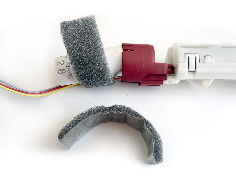 Retrait des mousses sur le condensateur