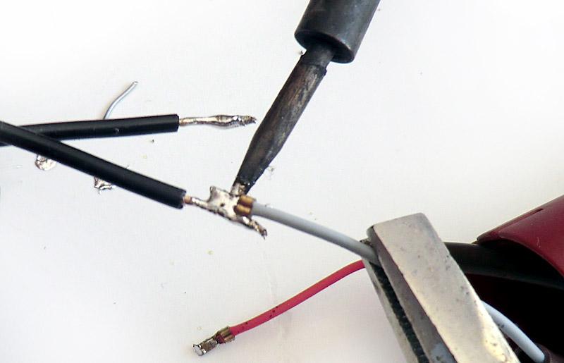 Soudure des câbles