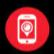 Icône recherche de smartphone