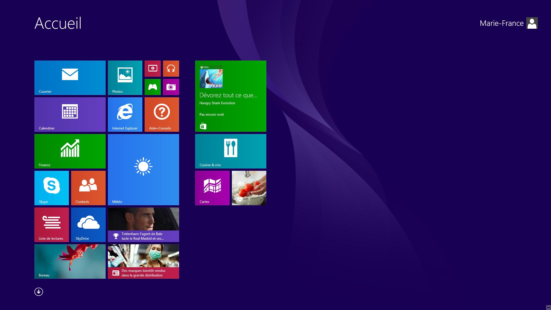 Le menu déroutant de Windows 8.1