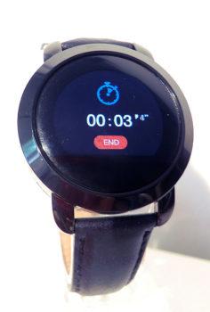 Chronomètre démarré