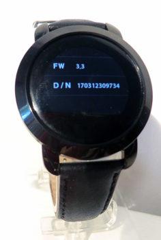 Numéro de version de la montre