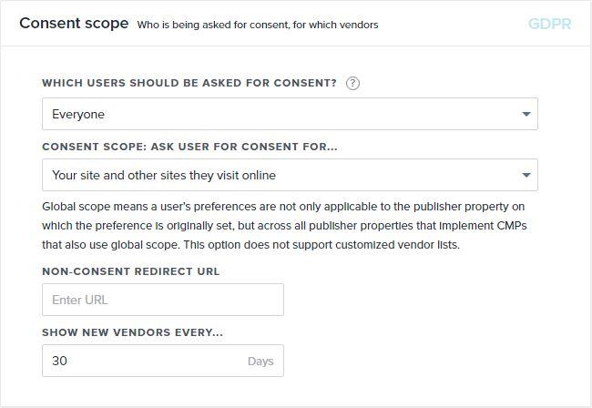 Content scope