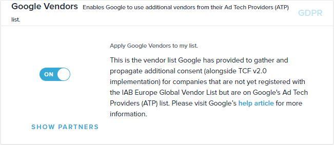 Google vendors