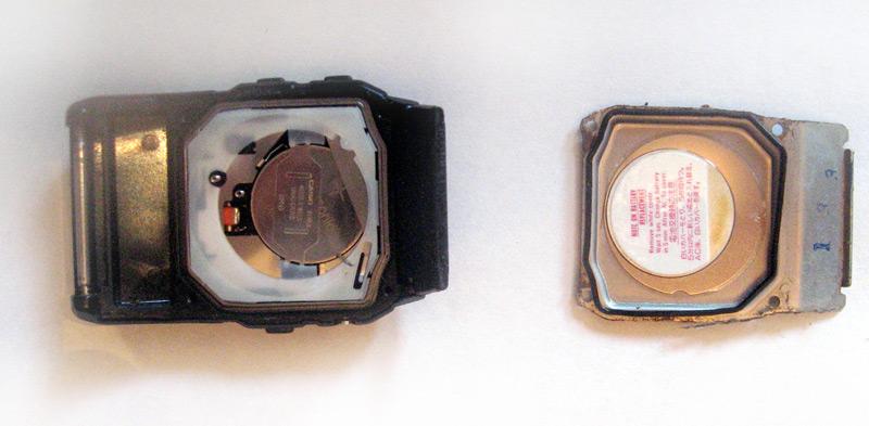 DBC-61 ouverte et son couvercle