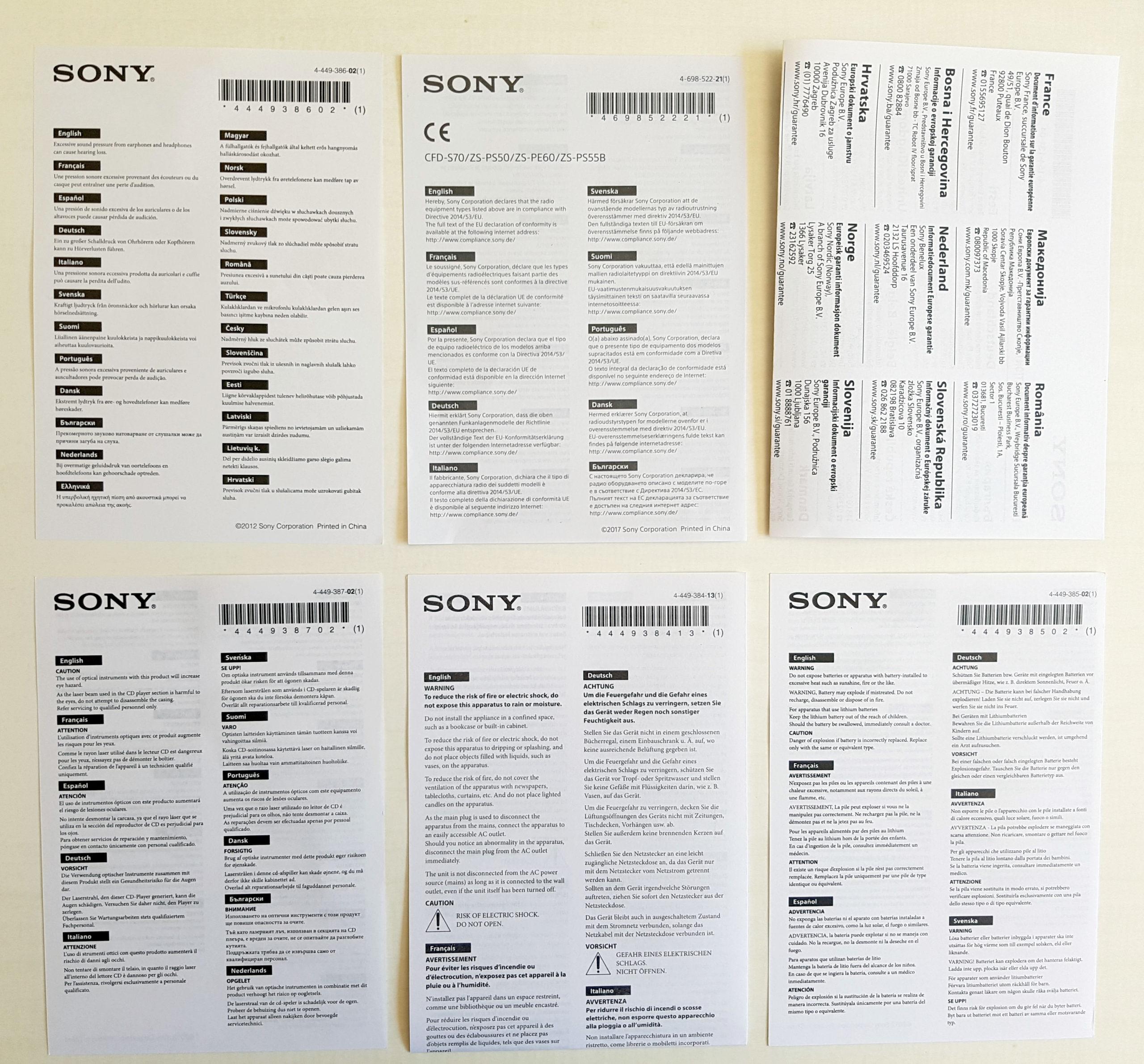 Documents fournis