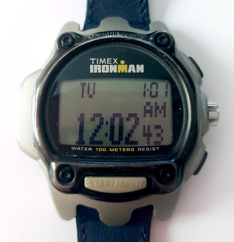 L'affichage de la montre fonctionne