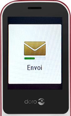 Envoi du SMS de demande d'assistance