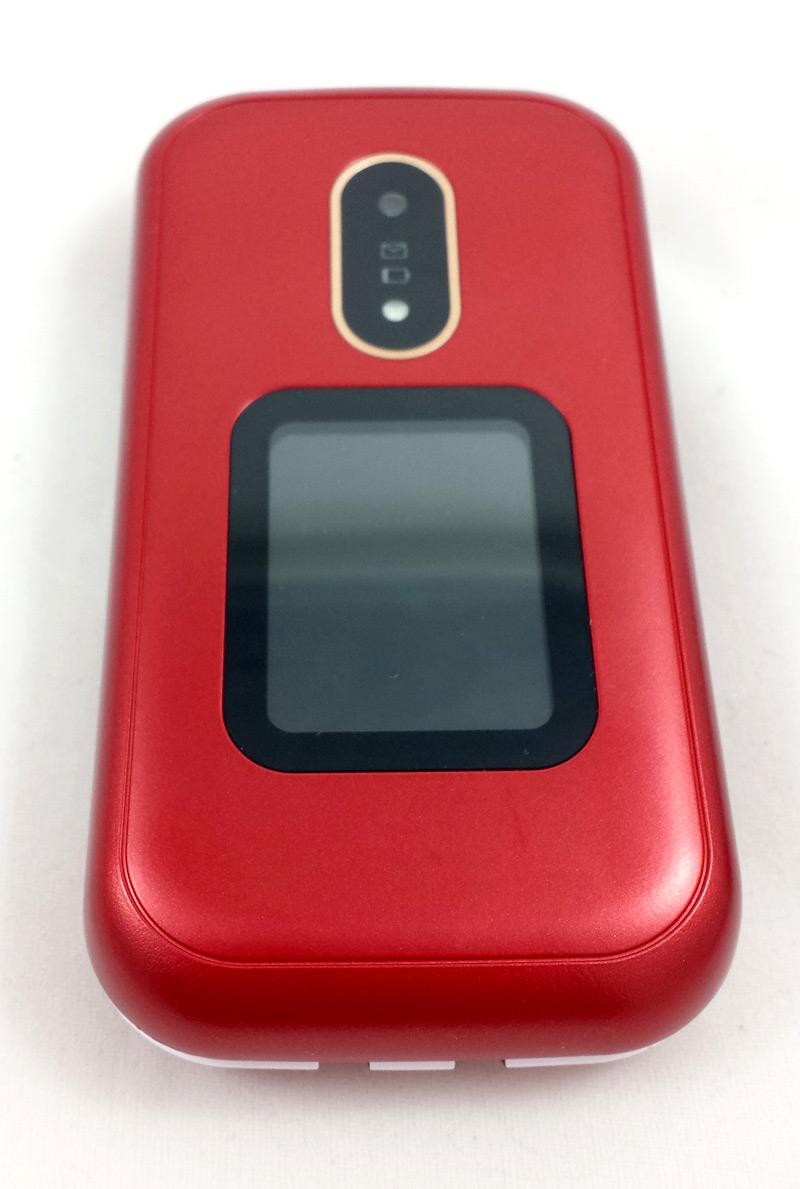 Téléphone côté écran extérieur